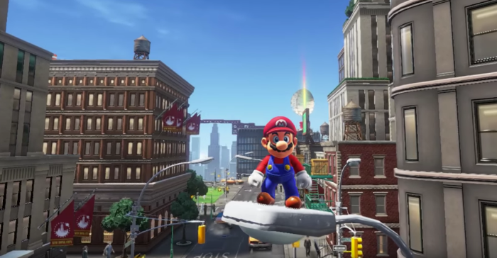 Super Mario Odyssey is coming this holiday season!